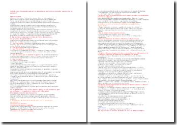 Dissertation poétique (poésie sérieuse)