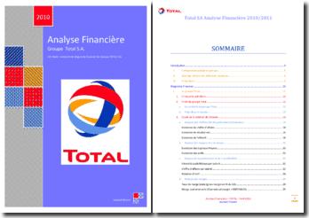 Analyse financière du groupe Total (2006 - 2010)