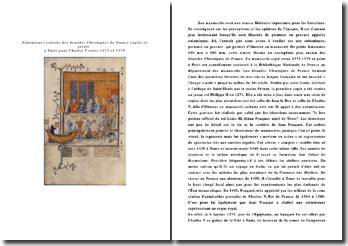 Enluminure de Charles V