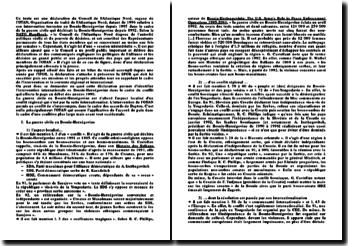 déclaration de l'OTAN sur la Bosnie-Herzégovine