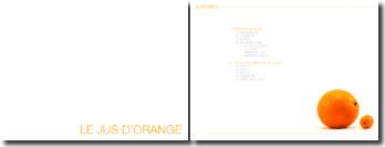Étude de marché et analyse sémiologique des packagings de jus d'orange