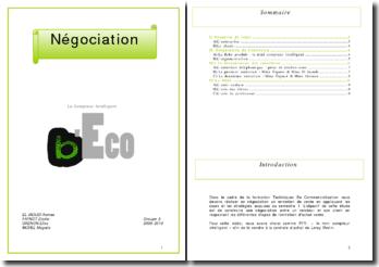 Dossier de négociation Leroy Merlin (2010)