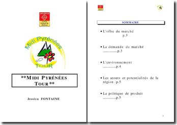 Marché du tourisme en Midi Pyrénées et concept
