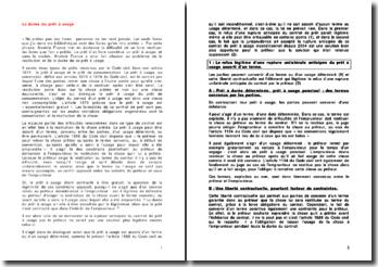 Les articles 1875 à 1879 du Code civil: la durée du prêt à usage