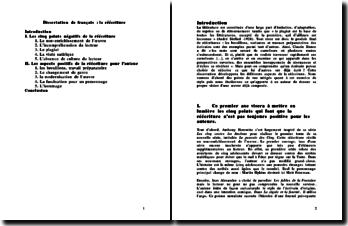 Dissertation : les réécritures