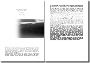 Analyse filmique: Les Amants de la nuit (1948), Nicholas Ray