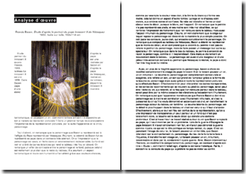 Analyse de Francis Bacon, Le Pape Innocent X