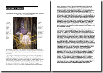 Analyse de Francis Bacon, Le Pape Innocent X
