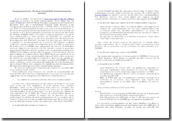 Commentaire d'arrêt : CE, Sect., 10 avril 2008, Conseil national des barreaux