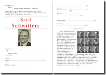 En quoi les oeuvres Merz de Kurt Schwitters visent-elles une forme particulière d'art total?