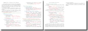 Plan de commentaire composé du Dormeur du Val d'Arthur Rimbaud