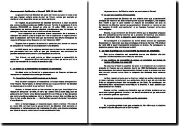 Gouvernement de Gibraltar c/ Conseil, CJCE, 29 Juin 1993