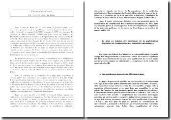 Commentaire d'arrêt: CE, 23 avril 2009, M. Huez