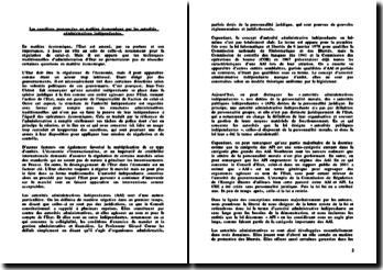 Les sanctions prononcées en matière administrative par les AAI