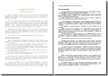Le contrat de jeu et pari Ch. Mixte 14 mars 1980, Civ., 1, 4 mai 1976