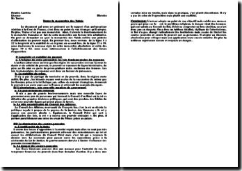 Texte: la monarchie des Valois