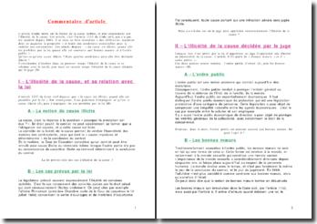 Commentaire de l'article 1133 du Code civil