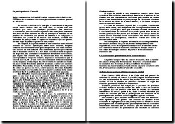 Chambre commerciale de la Cour de cassation du 18 octobre 1994 Schaeffer c/ Roland et autres