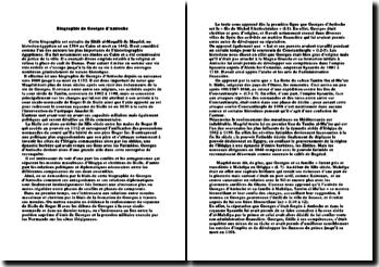 Biographie de Georges d'Antioche