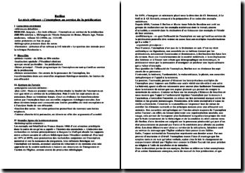 Berlioz, Le récit efficace : l'exemplum au service de la prédication (XIII-XVe siècles)
