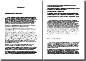 Commentaire d'arrêt: Johnny Hallyday contre Hachette Filipacchi