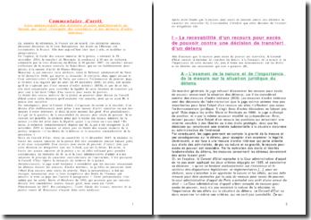 Conseil d'Etat 14 décembre 2007 - Actes administratifs non décisoire et actes administratifs ne faisant pas grief : l'exemple des circulaires et des mesures d'ordre intérieur