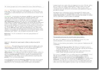 Exposé géologique sur la formation rift continental de la basse vallée de l'Argens.