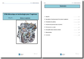Mécanique et technologie pour l'ingénieur: Moteur à explosion
