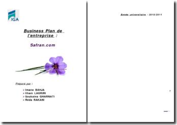Business Plan de l'entreprise : Safran.com