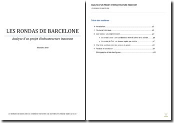 Les Rondas de Barcelone ou comment integrer une autoroute urbaine dans la ville ?
