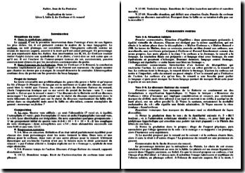 Le Corbeau et le Renard in Fables (I, 2) de La Fontaine