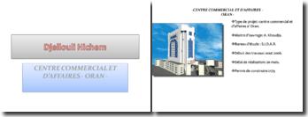 Projet d'une centre commerciale a Oran
