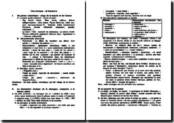 Analyse du poème « Une charogne » de Baudelaire