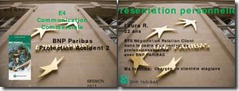 Communication commerciale: BNP Paribas Protection Accident 2