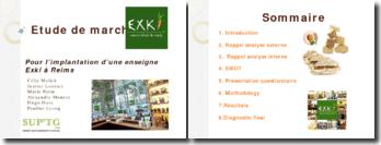 Etude de marché pour l'implantation d'une enseigne Exki à Reims