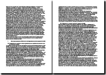 Dissertation - La Jurisprudence est-elle une source de droit ?