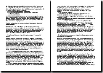 Cours Droit Constitutionnel L1 Droit