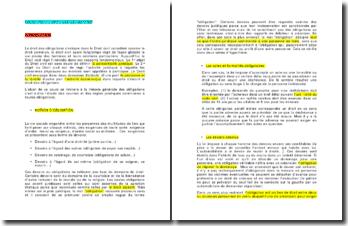 Généralités et processus de formation des contrats