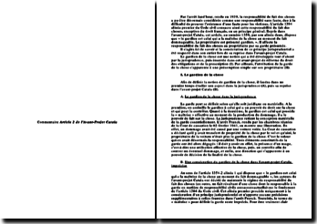 Analyse de l'article 2 de l'avant-projet Catala