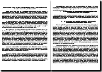 Action individuelle en nullité d'un licenciement pour motif économique: cas ALEFPA contre Berthelin et autres