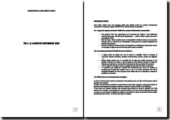 Gestion de la relation client: l'agence Mourenx GRC