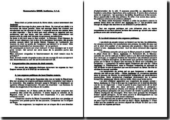 Commentaire Institutes, 1,1 al. - Gaius