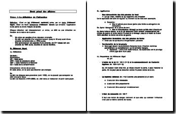 Droit pénal des affaires : les infractions - définition et répression