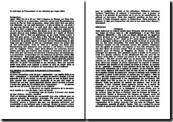 La technique de l'encaustique et son utilisation par Jasper Johns