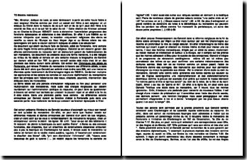Les hauts faits de Gervold, abbé de Fontenelle: extrait des Chroniques des abbés de Fontenelle