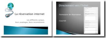 La réservation Internet: les différents canaux, leurs avantages, leurs inconvénients