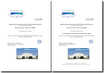 Le Bureau de Liaison juridique de l'Office des Nations Unies à Genève