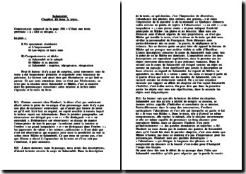 Salammbô, Sous la tente, commentaire de la page 308