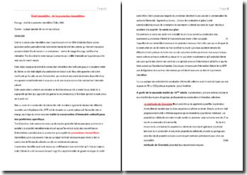 Droit de la promotion immobilière Dalloz 2009