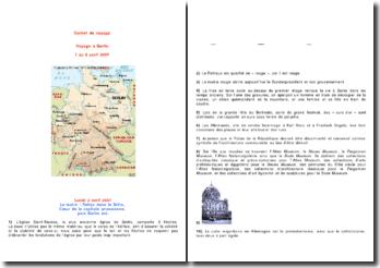 Carnet de voyage : voyage à Berlin